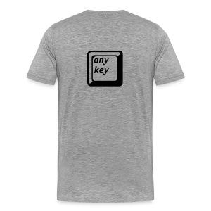 Any Key T - Men's Premium T-Shirt