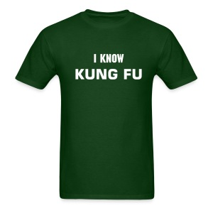 I Know Kung Fu - Men's T-Shirt