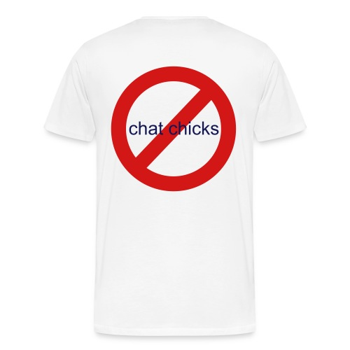chat chicks - Men's Premium T-Shirt
