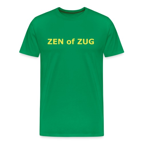 Zen of Zug Shirt - Men's Premium T-Shirt