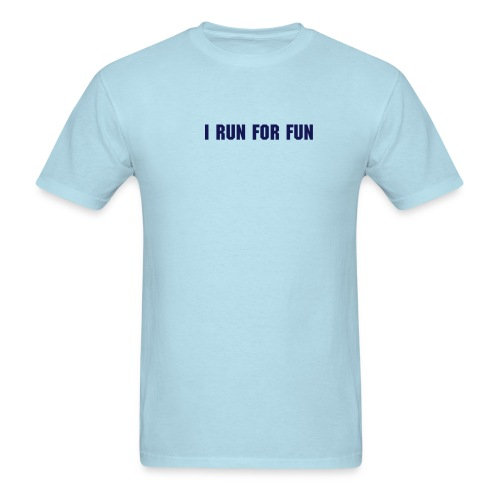 Men's T-Shirt - Makes it easier for people to know you're crazy