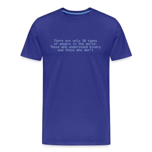 Binary Tee - Men's Premium T-Shirt