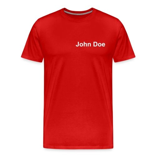 John Doe Tee - Men's Premium T-Shirt