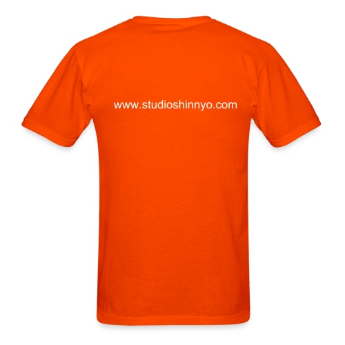 SkitZ' Orange Shirt - Men's T-Shirt
