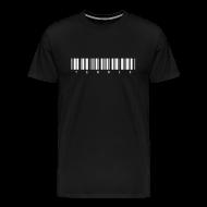 T-Shirts ~ Men's Premium T-Shirt ~ Barcode (black)