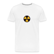 T-Shirts ~ Men's Premium T-Shirt ~ Radioactive Symbol T-shirt