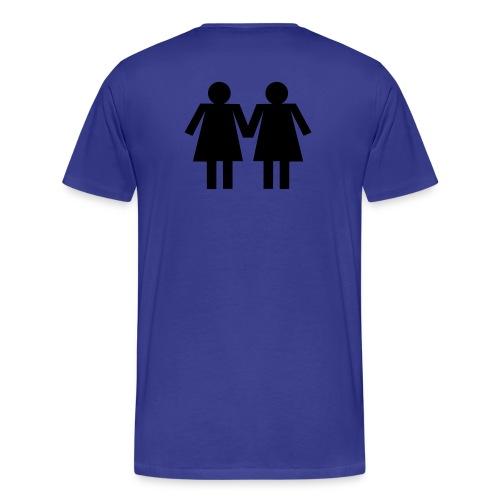 lesbian lovers - Men's Premium T-Shirt