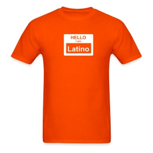 Hello I Am Latino - Men's T-Shirt