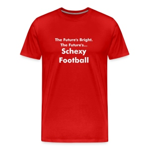 Schexy Football (Red\White) - Men's Premium T-Shirt