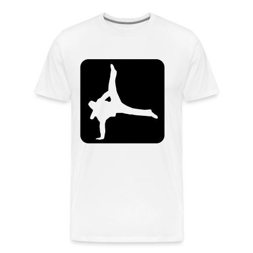 hiphop OLD SCHOOL hood  TEE - Men's Premium T-Shirt