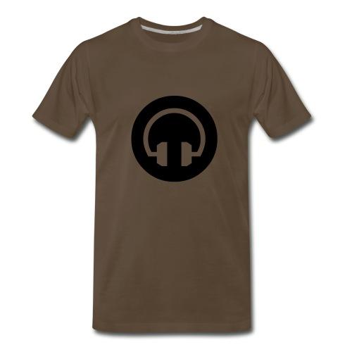 HeadPhone T-Shirt - Men's Premium T-Shirt