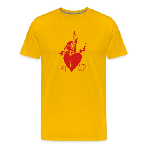sacred heart - Men's Premium T-Shirt