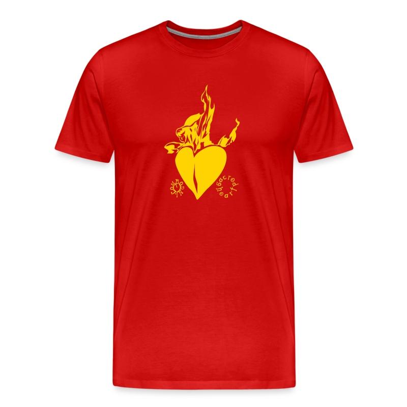 sacred heart - Men's Premium T-Shirt