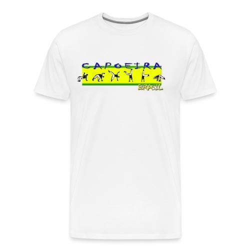 Capoeira - Brasil (Vários Tamanhos) - Men's Premium T-Shirt