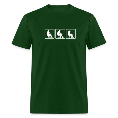 drummer chick casual tee - Men's T-Shirt