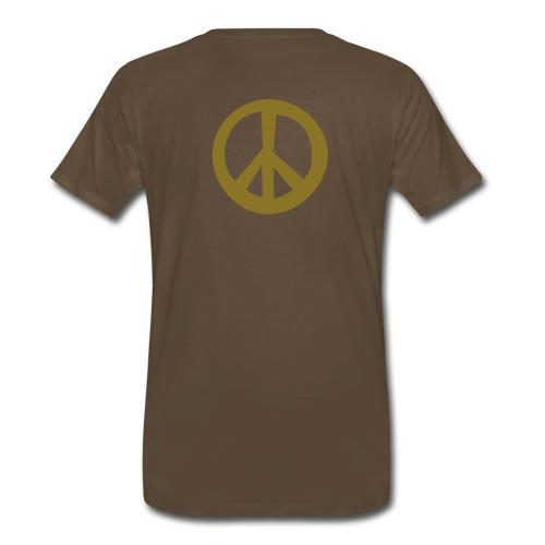 Chocolate Peace - Men's Premium T-Shirt