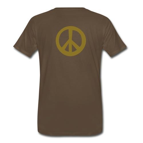 Chocolate Peace - Men's Premium T-Shirt
