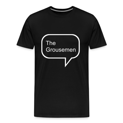 Grousemen bubble - Men's Premium T-Shirt