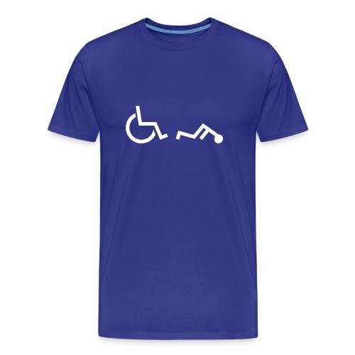 Fallen Wheelchair Shirt - Men's Premium T-Shirt