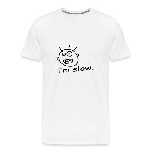 IM SLOW - Men's Premium T-Shirt