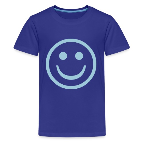 Smile Kids T'shirt (blue) - Kids' Premium T-Shirt