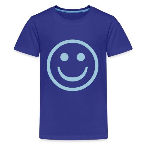 Smile Kids T'shirt (blue) - Kids' Premium T-Shirt