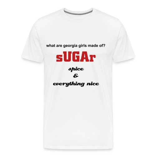 Sugar White Tee - Men's Premium T-Shirt