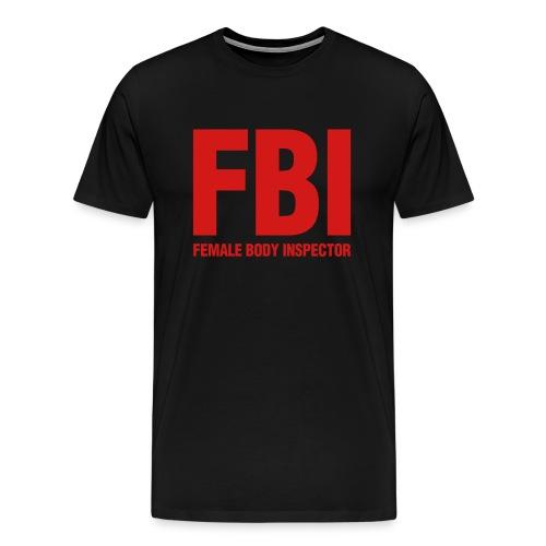 fbi mens tshirt - Men's Premium T-Shirt