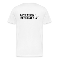 T-Shirts ~ Men's Premium T-Shirt ~ back only OPERATION HENNESSEY