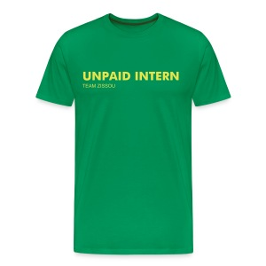 UNPAID INTERN TEAM ZISSOU - Men's Premium T-Shirt