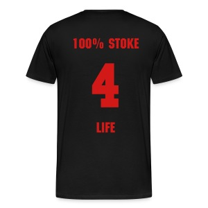 100% Stoke - Black T - Men's Premium T-Shirt