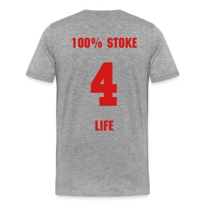 100% Stoke - Grey T - Men's Premium T-Shirt