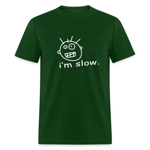 I'm Slow White on Forest T - Men's T-Shirt