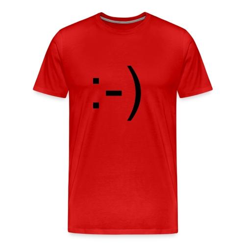 :-) - Men's Premium T-Shirt