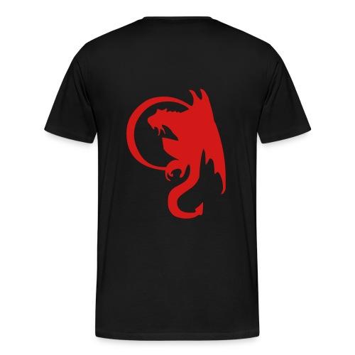 Moon Dragon - Men's Premium T-Shirt