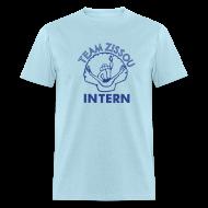 T-Shirts ~ Men's T-Shirt ~ Team Zissou INTERN T