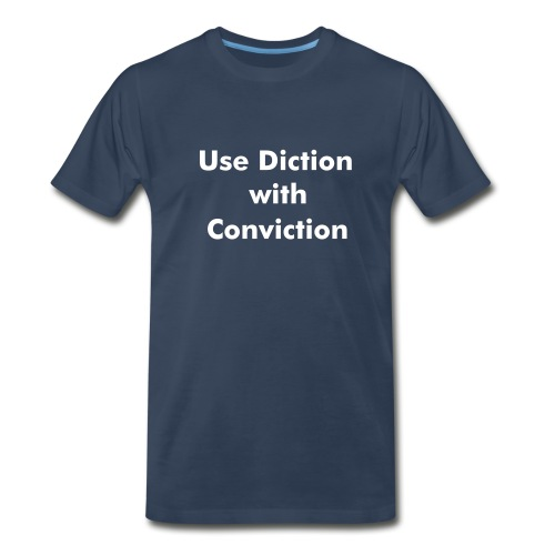 Diction - Men's Premium T-Shirt