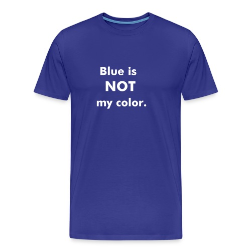 Color - Blu - Men's Premium T-Shirt