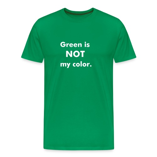 Color - Grn - Men's Premium T-Shirt