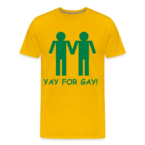 Yay For Gay - Men's Premium T-Shirt