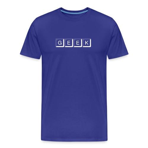 Men's Premium T-Shirt - geek shirt, laa dee daa