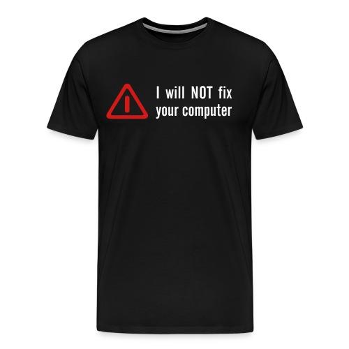 Not fixing it T-shirt - Men's Premium T-Shirt
