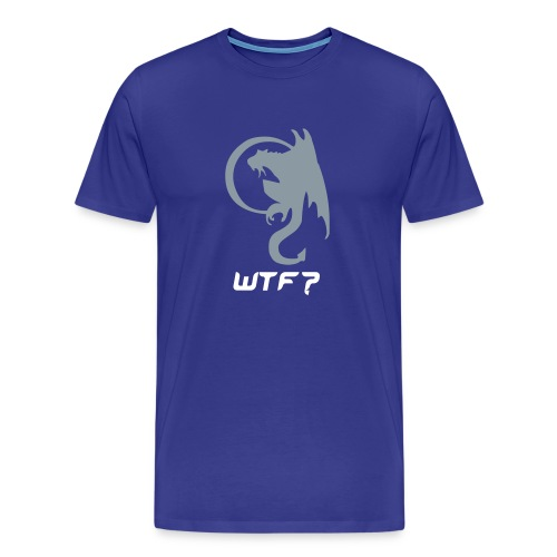 WTF? Dragon... - Men's Premium T-Shirt