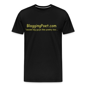 BloggingPoet XXXL - Men's Premium T-Shirt