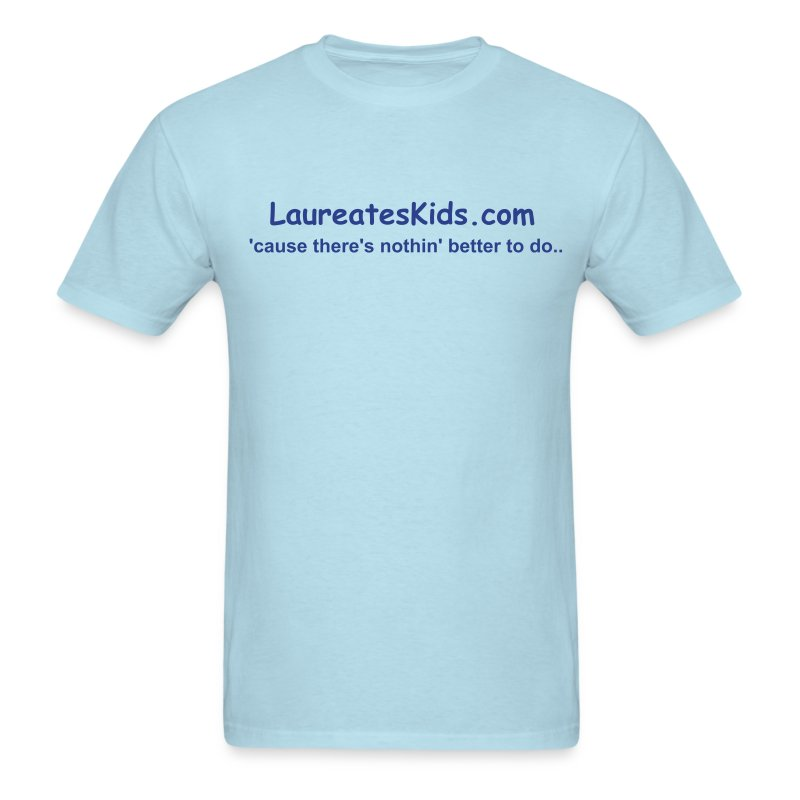 LaureatesKids blue shirt - Men's T-Shirt