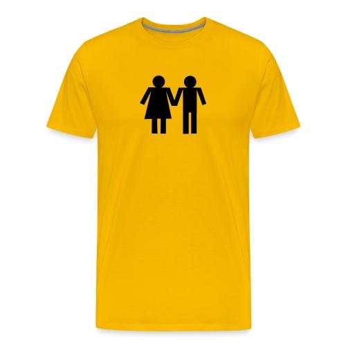 Het Couple - Men's Premium T-Shirt