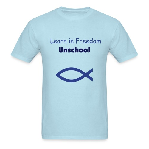 Unschoolers T - Men's T-Shirt