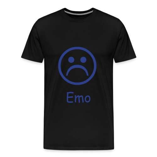 Black, Emo Shirt - Men's Premium T-Shirt