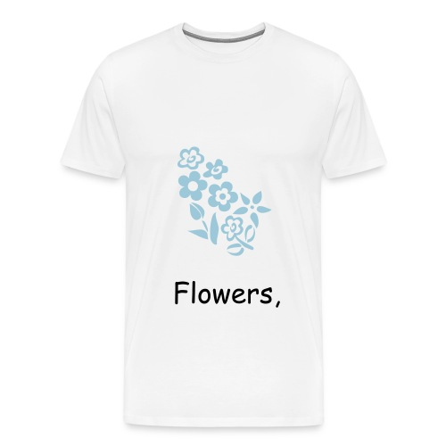 White, Warm Fuzzy Shirt - Men's Premium T-Shirt