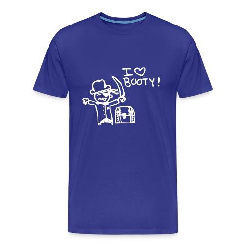 I love Booty - Men's Premium T-Shirt